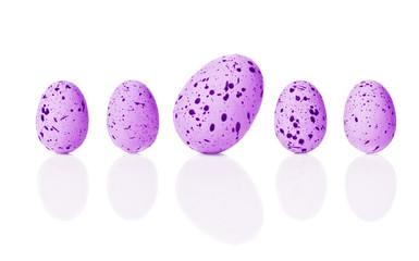 Bright Easter Eggs