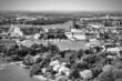 Stockholm, Sweden in black and white