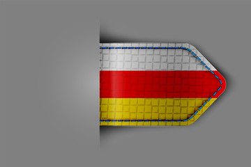 Flag of South Ossetia