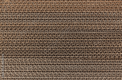 canvas print picture Corrugated Cardboard Stacked