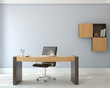 canvas print picture - Office interior.
