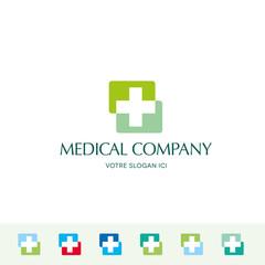 Medical, santé, logo d'entreprise