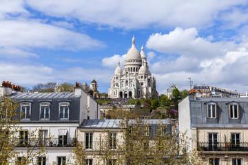 Paris, FranceView of Montmartre and Sakre-Ker