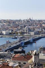 Türkei, Istanbul, Blick vom Galata- Turm