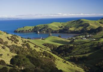 Neuseeland, Ansicht der Coromandel-Halbinsel