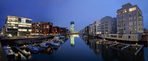 Deutschland, Hessen, Frankfurt am Main, Moderne Luxus- Apartments im West Port