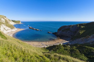 England, Ansicht von Mann of War Bay