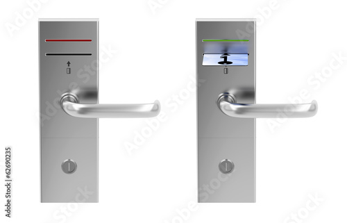 Keycard electronic locks