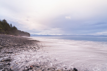 Canada, British Columbia, Vancouver Island, French Beach Provincial Park