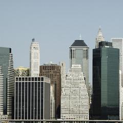USA, New York, Blick auf Hochhaus