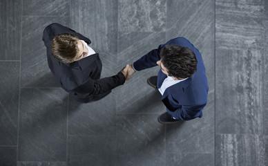 Deutschland, Geschäftsleute Händeschütteln