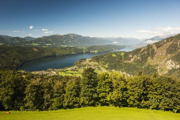 Österreich, Kärnten, Ansicht des Millstätter See