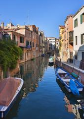 Italien, Venedig, Sleepy Kanal in Dorsoduro