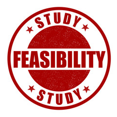 Feasibility study stamp
