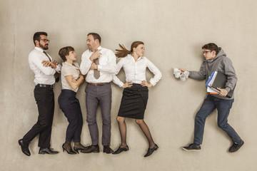 Kaffee Junge an Service für Geschäftsleute im Büro