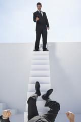 Unternehmer, fotografieren anderen Mann
