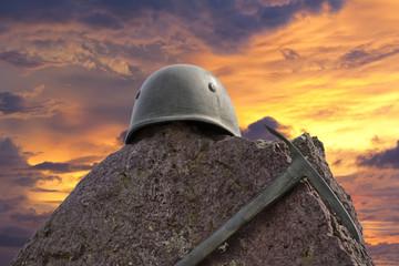 ww II helmet