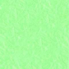 Green crumpled paper texture background