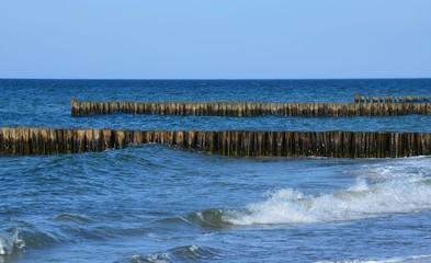 Küstenschutz durch Buhnen