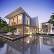Contemporary house with pool N1
