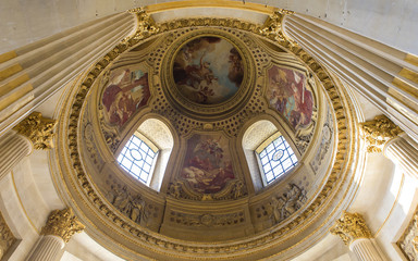 Hotel des Invalides, interiors, Paris,  France