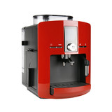 Fototapety Red espresso machine