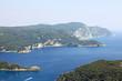 Mediaterranean landscape. Corfu island, Greece.