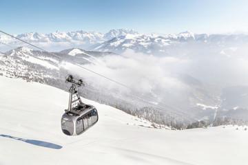 Ski area Zell am See/Kaprun, Austria