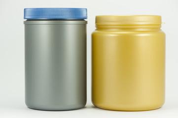 Plastic tins