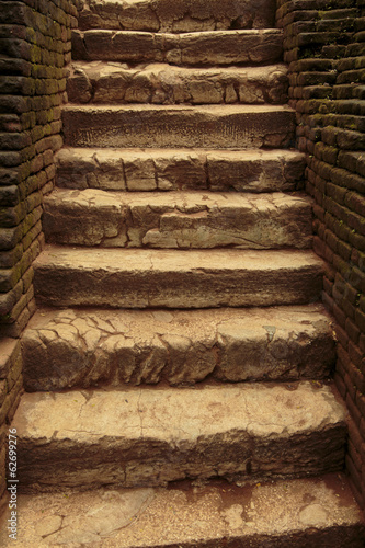 Ancient stone stairs