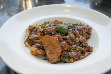 Char Kway Teow Noodle Dish