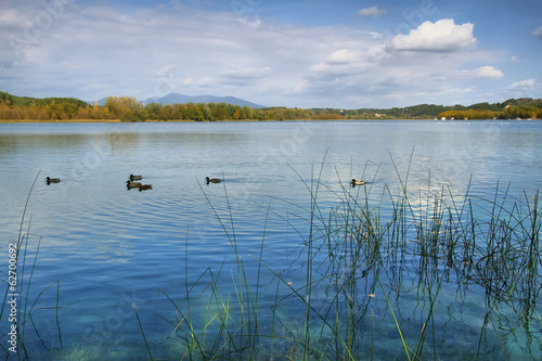 View of Lake Banyoles