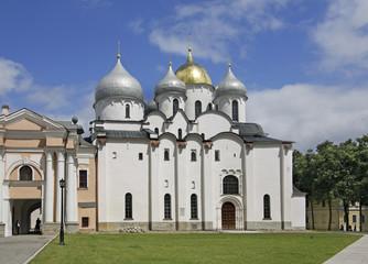 Софийский собор в Новгородском детинце. Великий Новгород