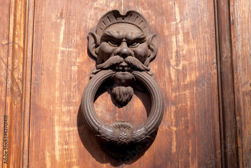 Antique door handle