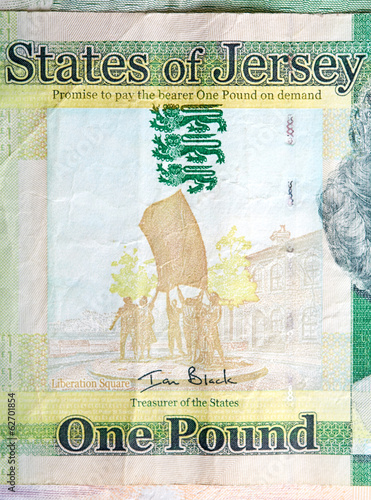 A one pound note