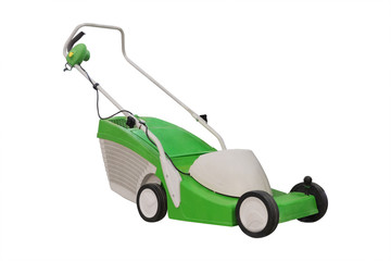 lawn-mower isolated