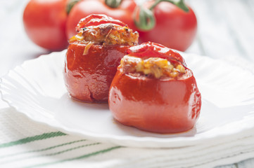 Stuffed tomatoes series 06