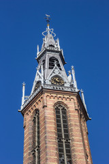 Spire of the Jozef Cathedral in Groningen