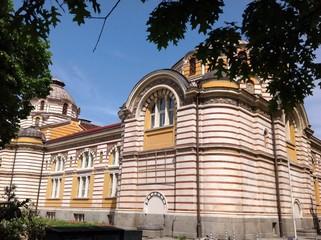 здание общей минеральной бани в Софии