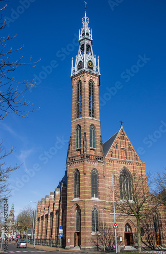 St Jozef cathedral in the center of Groningen