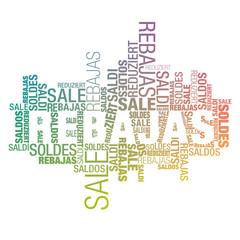 Rebajas international gradient colors