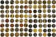 World Coins Münzen Welt Monedas del mundo 세계 동전