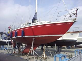 manutenzione alle barche