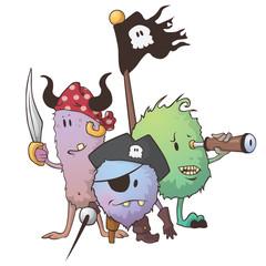 Monster Piraten Crew
