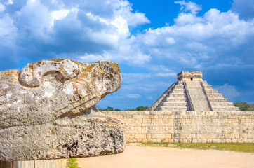 Chichen Itza pyramid,Mexico