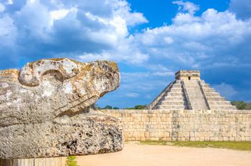Chichen Itza pyramid,Mexico