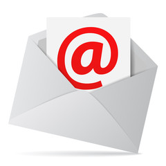 Internet Email Contact Us Concept