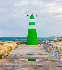 Tel Aviv lighthouse