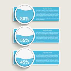 Modern infographic. Design elements