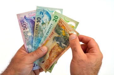 New Zealand Dollar banknotes